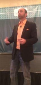 Joe Pulizzi at Triangle AMA, by Karl Sakas