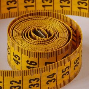 Tape measure for doing better estimates